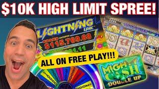 $10,000 in FREE PLAY ON HIGH LIMIT SLOTS at Cosmopolitan Las Vegas!!