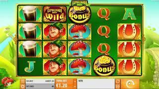 Leprechaun Hills slot from Quickspin - Gameplay