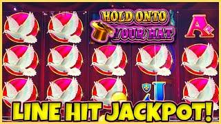 Lock It Link Hold Onto Your Hat HANDPAY JACKPOT HIGH LIMIT $30 SPINS & RISING FORTUNES Slot Machine