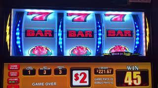 Double Sizzling Rose • IGT Sparky Bonus Wins •Kickapoo Lucky Eagle Casino