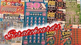 "EXCITING..GAME""50X""..REDHOT BINGO""CASH TRIPLER""5X CASH ""WONDERLINES""£100LOADED"