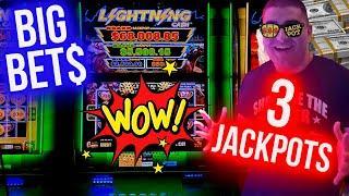 High Limit Lightning Link BIG HANDPAY JACKPOT   Winning Money At Casino