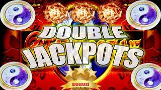 YES! WE GOT DOUBLE JACKPOTS! PLAYING MY FAVORITE SLOT MACHINES AT THE CASINO