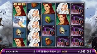 VIKING HOARD Video Slot Casino Game with a VIKING RAID FREE SPIN  BONUS