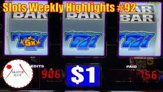 Slots Weekly Highlights #92 for You who are busyHigh Limit - Blazin Gems Slot 赤富士スロット
