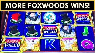 FOXWOODS GREAT CEDAR CASINO GIVES US ALL THE WINS! ULTIMATE FIRELINK, MR. WOO, MONOPOLY & BUFFALO!