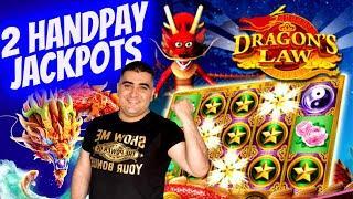 2 HANDPAY JACKPOTS On High Limit Slots ! Las Vegas Casino JACKPOTS