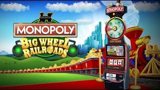 Monopoly Big Wheel Railroad
