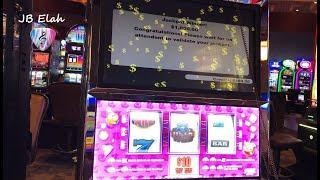 """Crazy Cherry Wild Frenzy """"TWO JACKPOTS"""" About Even Play JB Elah Slot Channel Choctaw How To YouTube"""