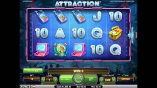Attraction slot by NetEnt - Gameplay