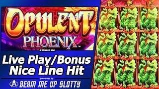 Opulent Phoenix Slot - Live Play, Free Spins Bonuses and Nice Line Hit