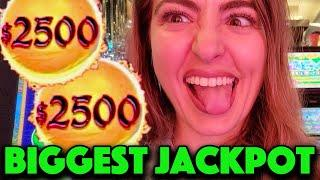 My LARGEST JACKPOT HANDPAY EVER on DRAGON LINK! High Limit Slot Machine in VEGAS!