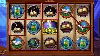 JEKYLL VS HYDE Video Slot Casino Game with a RETRIGGERED MONSTER WITHIN FREE SPIN BONUS