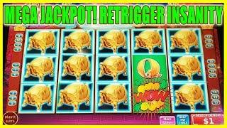 OMG MEGA JACKPOT! I CAN'T BELIEVE THIS HAPPENED OVER 250 SPINS HIGH LIMIT SLOT MACHINE