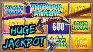 HIGH LIMIT Konami Thunder Arrow Jurassic Queen & North Queen MAJOR JACKPOT HANDPAY Slot Machine