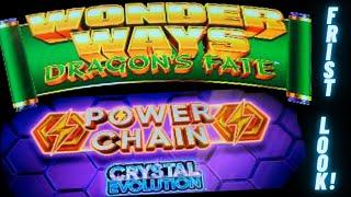 First Look! WONDER WAYS DRAGON FATE POWER CHAIN CRYSTAL EVOLUTION(Incredible Technologies)