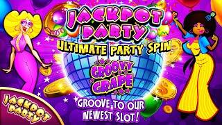 Now unlocked! | Jackpot Party Ultimate Party Spin: Groovy Grape