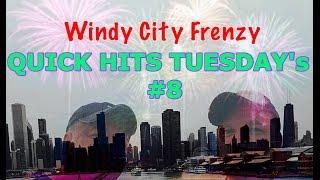 BIG WIN* Stars and Bars Quick Hits, 2 slot machine bonuses,by Bally, WCFrenzy Quick Hits Tuesday's