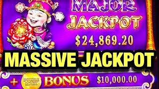 MASSIVE JACKPOT WIN~JUST WON ANOTHER HIGH LIMIT MAJOR~TREE OF WEALTH SLOT~$88 BETS