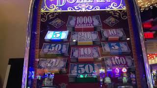 Triple Double Diamond $25/Spin - 5 Times Pay - Double Top Dollar $50/Spin
