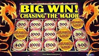 •BIG WIN!• - DRAGON LINK SLOT • - CHASING THE MAJOR! - Slot Machine Bonus