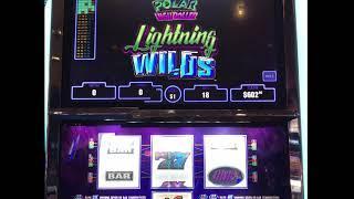 "VGT Slots ""POLAR HIGH ROLLER LIGHTING WILDS""  Jackpot - Choctaw Casino, Durant, OK"