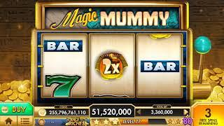 MAGIC MUMMY Video Slot Casino Game with a FREE SPIN BONUS
