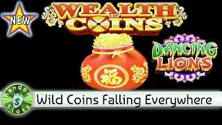 ️ New - Wealth of Coins Dancing Lions slot machine, Bonus