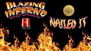 NAILED IT! - Blazing Inferno - 2c denom - locking wilds bonus - Slot Machine Bonus