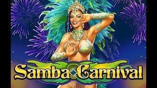 Samba Carnival Online Slot - Samba Bonus, Multiplier Wild Feature!