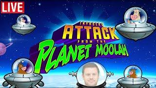 Invaders Attack from the Planet Moolah - Searching for the Mythical Unicow!