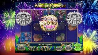 Samba Carnival Slot - Play'n GO Promo