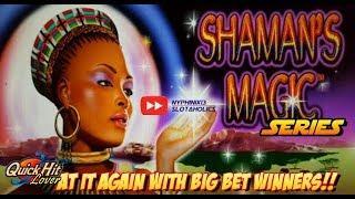 Shaman's Magic Slot Bonus BIG WINS!