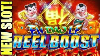 NEW SLOT! FU DAO LE REEL BOOST ️ QUADRUPLE THE FUN!? Slot Machine (SG)