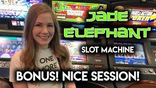 Jade Elephant Slot Machine!! BONUS!! Nice Session!!