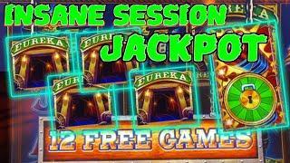 WACKY WEDNESDAY W/ GRETCHEN #13 SUPERLOCK Lock It Link Eureka Reel Blast HANDPAY JACKPOT ON $6 SPIN!