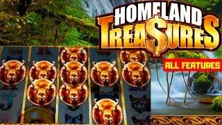 NEW First Look HOMELAND TREASURES G2E featured (Bluberi) ALL FEATURES