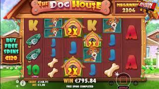 The Dog House Megaways - Raining Wilds MEGA WIN!