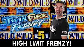 High Limit FRENZY  Twin Fire & Total Meltdown at Hard Rock Cherokee #ad