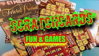 SCRATCHCARDS...WE START 2 NIGHTS OF FUN & SCRATCHING CARDS..PICK TONIGHT..SCRATCH TOMORROW
