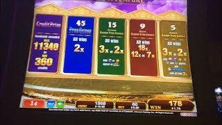 FIRST ATTEMPT - China Shores Great Stacks Slot Machine Bonus