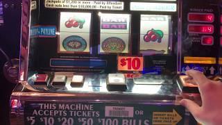 Triple Double Diamond - $20/Spin - High Limit Slot Play