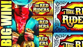 BIG WIN RUN! (TAKE THAT SPARTACUS!) THE RED RIDER  NEW SUPER COLOSSAL REELS Slot Machine (SG)