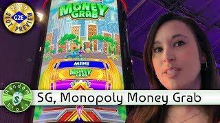 Monopoly Money Grab slot machine preview, Scientific Games, #G2E2019