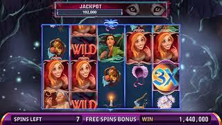 BIG BAD & LITTLE RED Video Slot Casino Game with a BIG BAD FREE SPIN BONUS