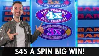 $45 SPIN BIG WIN  Super Times Pay  HUGE High Limit WINS  BCSlots