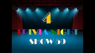 Thursday Night Trivia - Show #59