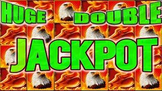HUGE DOUBLE JACKPOT RETRIGGER! OLD SCHOOL AINSWORTH HIGH LIMIT SLOT MACHINE