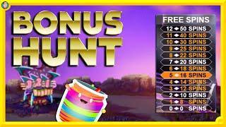 £1000 Bonus Hunt: Jammin' Jars, Donuts, Millionaire!!