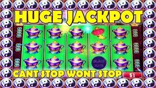 HUGE JACKPOT  CAN'T STOP WON'T STOP ️  HUGE WINS ON CHINA SHORES HIGH LIMIT